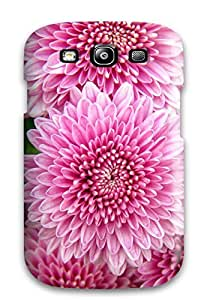 Flexible Tpu Back Case Cover For Galaxy S3 - Chrysanthemum Flowers BY icecream design
