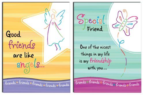 Blue Mountain Arts 39454 Pocket Notepad Set, Good Friends/Special Friends, 2-Count
