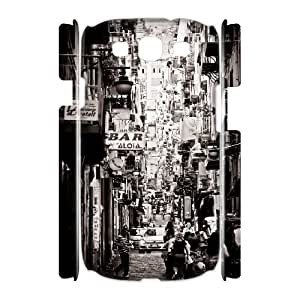3D [Arting Series] Samsung Galaxy S3 Case Italy, Doah - White