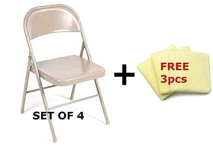 Fabulous Amazon Com Mainstays Steel Chair Set Of 4 Multiple Colors Lamtechconsult Wood Chair Design Ideas Lamtechconsultcom
