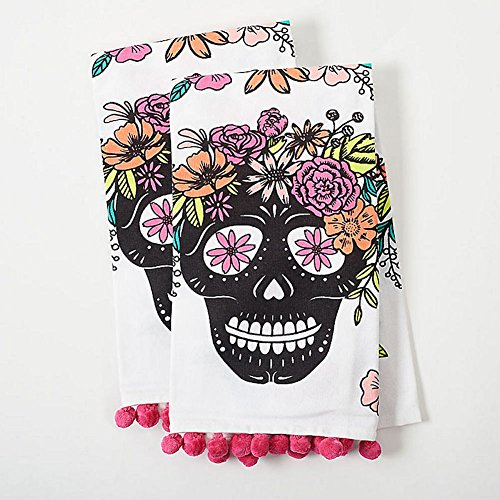 Paper Source - Skull Tea Towel