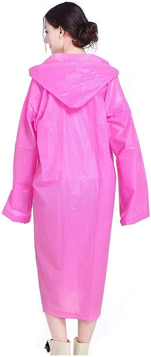 Rain Jacket Adult Raincoat Eva Fashion Women Outdoor Raincoat Poncho Giovane Impermeabile con Cappuccio in Tinta Unita 1