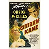 Citizen Kane Faces Orson Welles Movie Poster