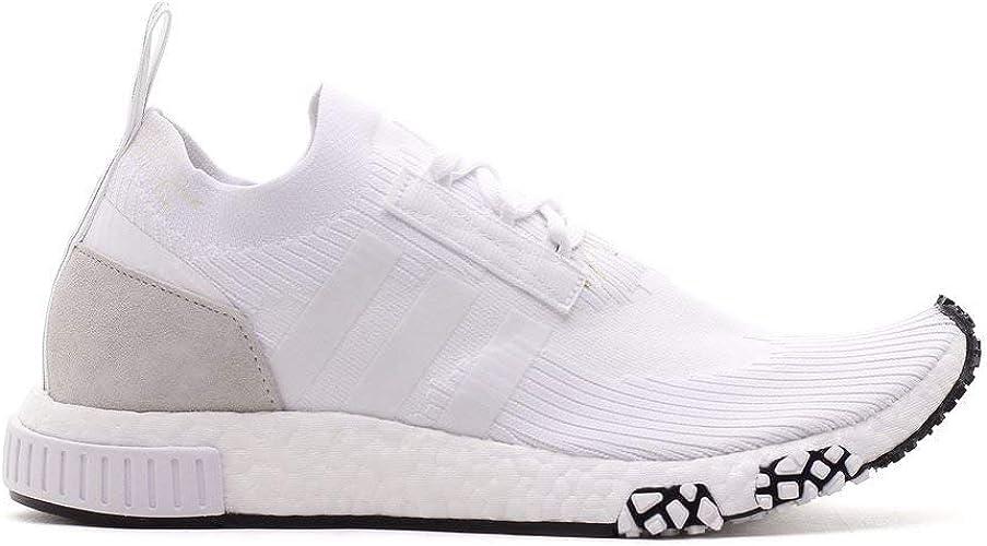 Amazon Com Adidas Men Nmd Racer Pk White Footwear White Road