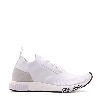 sports shoes ef84e 4ccba adidas Men NMD Racer PK White Footwear White Size 8.0 US