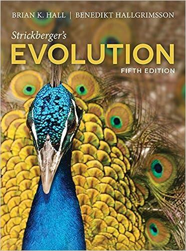 Evolution pdf strickberger