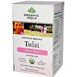 Organic India Tusli Tea Organic Sweet Rose 18 ct ( Value Bulk Multi-pack)