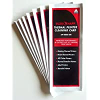 Thermal Printer Cleaning Cards, Lot of 25