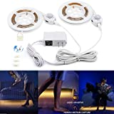 Motion Activated Bed Light, Huamai Flexible LED Bed Strip Light Kit Motion ...