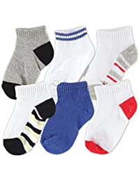 Baby Basic Socks, 6 Pack