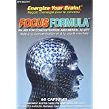 NuLife Vitamins 4962 Focus Formula An Aid for Concentration and Mental Acuity