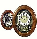 Brand New Joyful Nostalgia Oak By Rhythm Clocks - 18 Tunes - Musical - New! - 4MH852WD06//1 Clock