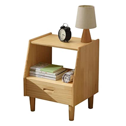Amazon.com: Nightstands Bedroom Furniture Solid Wood Side ...