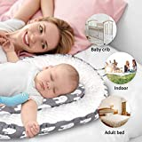 Mamibaby Baby Lounger, Baby nest 100% Soft Cotton