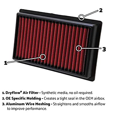 AEM 28-20281 Dryflow Air Filter: Automotive