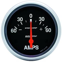 Auto Meter 3586 Sport-Comp Electric Ampmeter Gauge