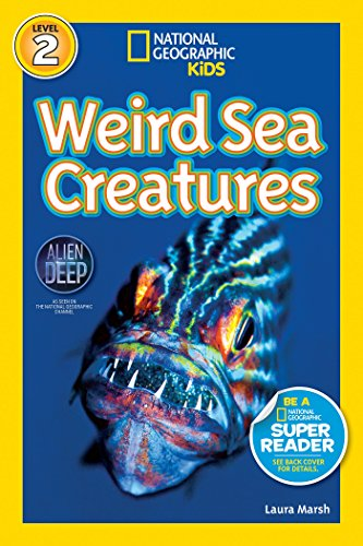 National Geographic Readers: Weird Sea Creatures for $<!---->