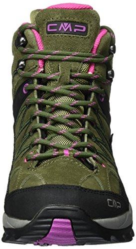 Pink Rigel 80bd Trekking Wanderstiefel Olive Damen Mid amp; Grün CMP hot fOw4zaxqW