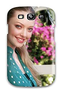 Snap-on Case Designed For Galaxy S3- Amanda Seyfried