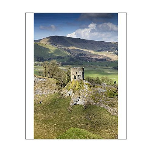 Media Storehouse 10x8 Print of Peveril Castle DP175579 ()