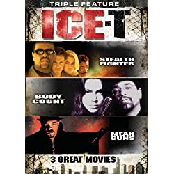 Stealth Fighter / Body Count / Mean Guns (Ice-T Triple Feature)
