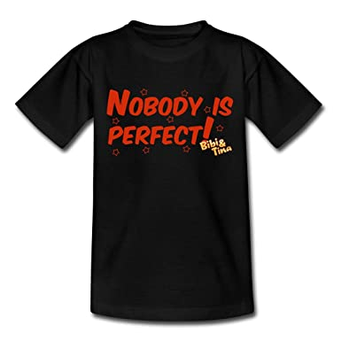 Spreadshirt Bibi Und Tina Star Edition Nobody Is Perfect Teenager T