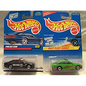 Heat Fleet Series Complete Series Set Hot Wheels Die Cast Cars Lot of 4