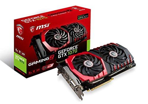 Price comparison product image MSI Gaming GeForce GTX 1070 8GB GDDR5 SLI DirectX 12 VR Ready Graphics Card (GTX 1070 GAMING Z 8G)