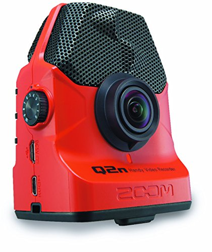 Zoom Q2n Handy Video Recorder with Q2N Accessory Pack (Red)