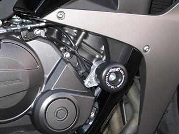 Satz Gsg Moto Sturzpads Passend Für Die Honda Cbr 600 Rr Pc40 07 08 Auto