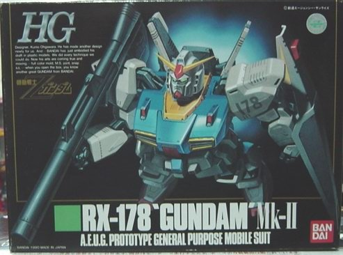 Gundam 1/144 Scale High Grade Model Kit RX-178 Gundam Mk-II