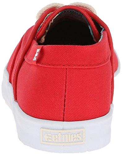 Etnies CORBY W'S - Zapatillas De Skate de lona mujer rojo y blanco