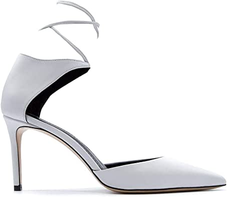 ALDO CASTAGNA Luxury Fashion Womens ELISE18080AVORIO White Pumps   Fall Winter 19