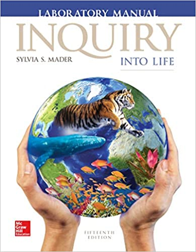answers to inquiry into life lab manual