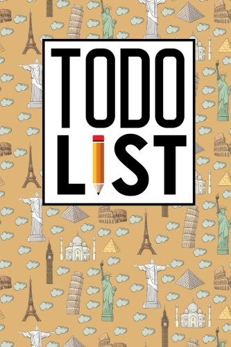To Do List: Checklist Chart, To Do Books For Kids, Daily To Do Book, To Do List Notepad For Work, Agenda Notepad For Men, Women, Students & Kids, Cute ... Landmarks Cover (To Do List Book) (Volume 10) PDF