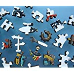 Jigsaw Puzzles 1000 Piece Space Puzzles for Adult Kids Planets in Space, 1-Space 8