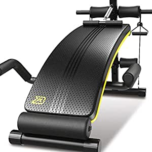 ALUA- Adjustable Sit up Bench Slant Board Pro Ab,Adjustable Workout Abdominal Exercise Multifunction Bench Board