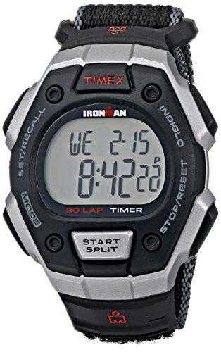 Timex Men's T5K8269J Ironman Classic Digital Silver-Tone Resin Watch...