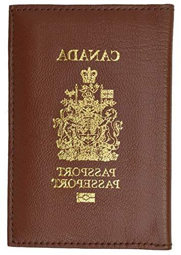 Mikash CANADA Travel Leather Passport Organizer Holder Card Case Protector Cover Wallet | Model TRVLWLLT - 1371 |
