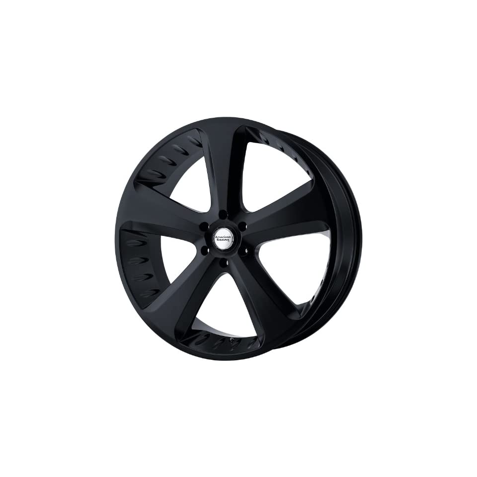 American Racing Vintage Circuit 20x9 Black Wheel / Rim 6x5.5 with a 30mm Offset and a 100.50 Hub Bore. Partnumber VN87029062730