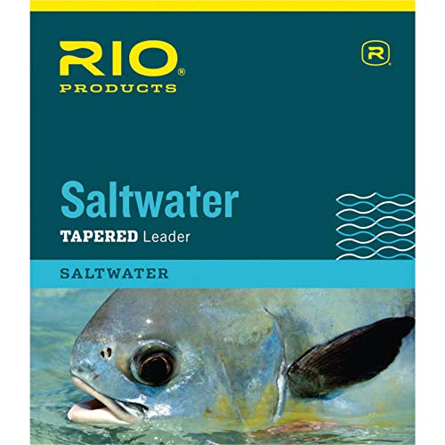 (RIO Products Saltwater Knotless Leader 10Ft 12Lb 6Kg)