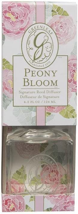 Greenleaf Signature Reed Diffuser 4.2 Oz. - Peony Bloom