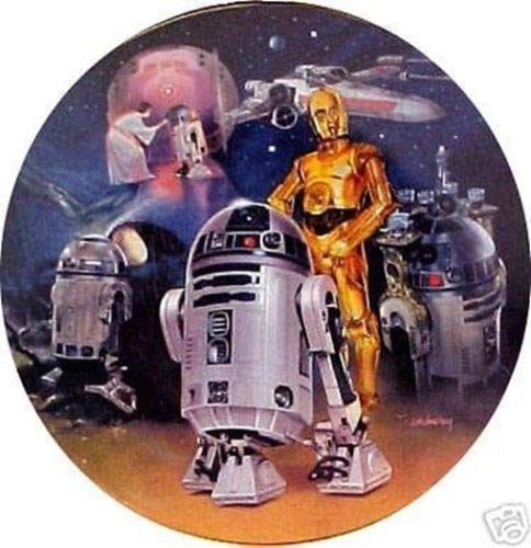 Star Wars Collectible Plates - Star Wars Collectable Plate: R2-D2