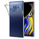 #2: Spigen Liquid Crystal Galaxy Note 9 Case with Slim Protection and Premium Clarity for Galaxy Note 9 (2018) - Crystal Clear