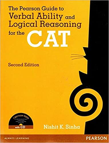 Buy the pearson guide to verbal ability and logical reasoning for buy the pearson guide to verbal ability and logical reasoning for the cat with cd book online at low prices in india the pearson guide to verbal ability fandeluxe Images