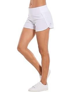 CRZ YOGA Femme Shorts de Running Pantalon de Sport Court avec Poche à Zippé  - 2.5 13a87b25ca6