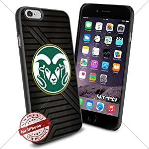 """NCAA-Colorado State Rams,iPhone 6 4.7"""" Case Cover Protector for iPhone 6 TPU Rubber Case Black"""