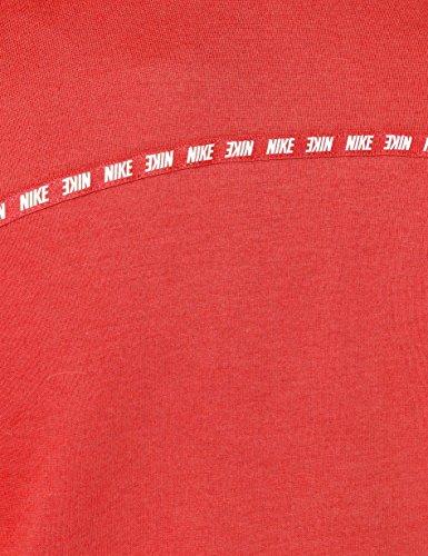 Bianco Donna Con Tropicale Multicolore Rosa Cappuccio Nike Felpa nbsp;885371 6aEqIxwC8