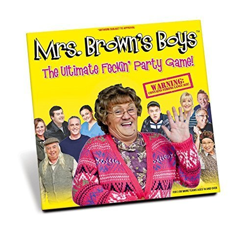 Mrs Brown's Boys The Ultimate Feckin Party Game Adults Version by Premier Life Store by Paul Lamond