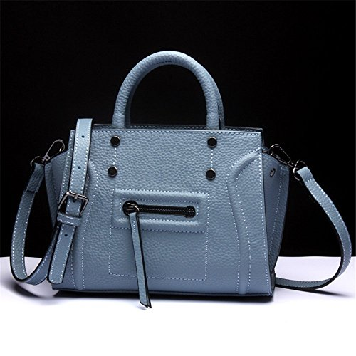 Simple Leather Bag Package Xuanbao Leisure Handbag Diagonal Shoulder Purple Lady's YxwqEEzn76